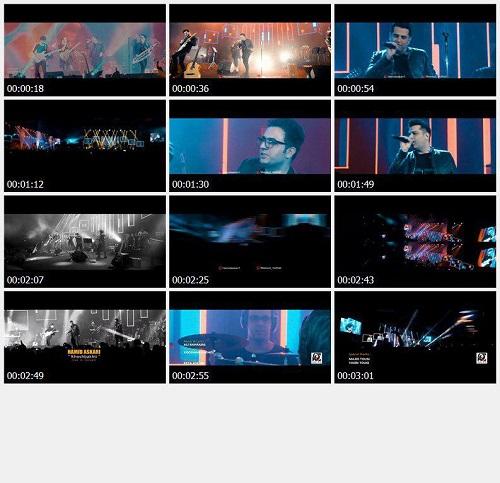 موزیک ویدئو جدید حمید عسکری - خوشبختی (اجرای زنده)